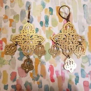 Lia Sophia Chandelier Earrings